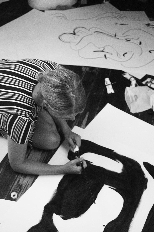 Christiane Spangsberg | Photo by Louise Thornfeldt.