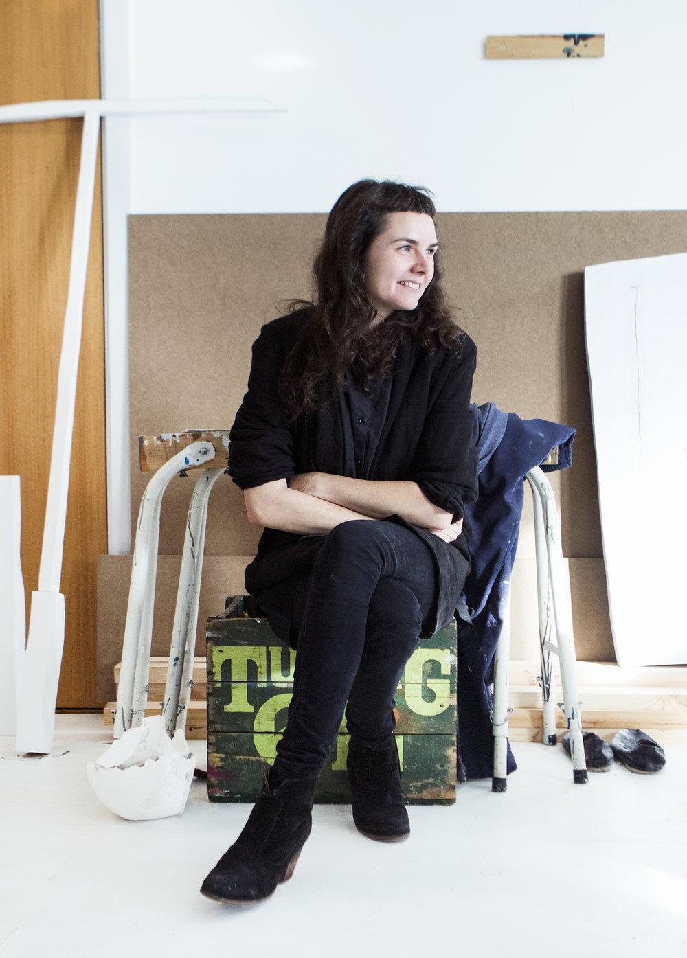 Jeanette Hillig's atelier | Fotos af Rikke Luna & Matias © I DO ART Agency.