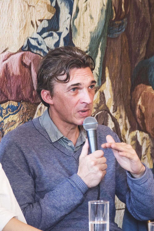 Nicolas Bourriaud (direktør, La Panacée, Contemporary Arts Center Montpellier) | Foto © I DO ART Agency.
