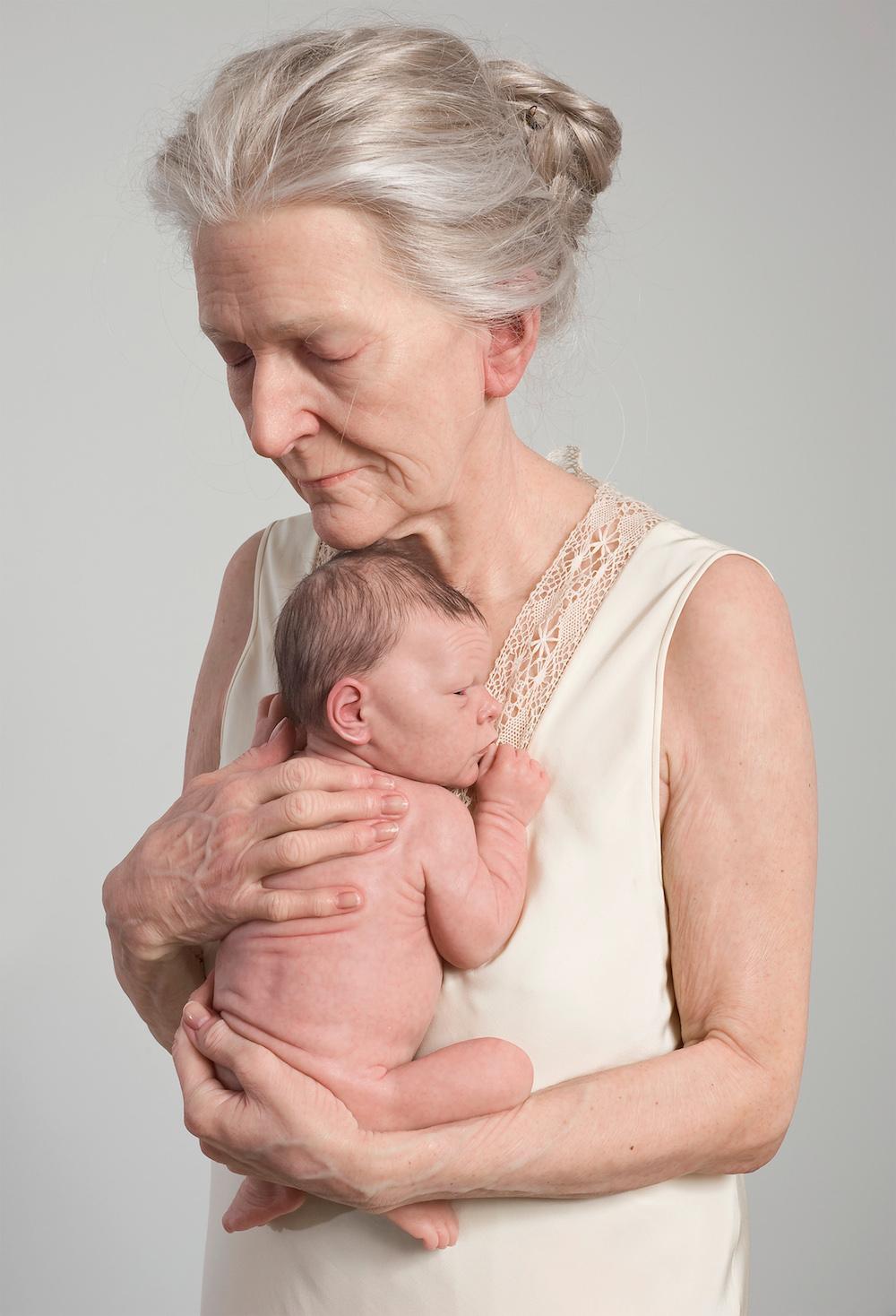 Sam Jinks,  Kvinde og barn , 2010. Courtesy kunstneren og Sullivan+Strumpf, Sydney
