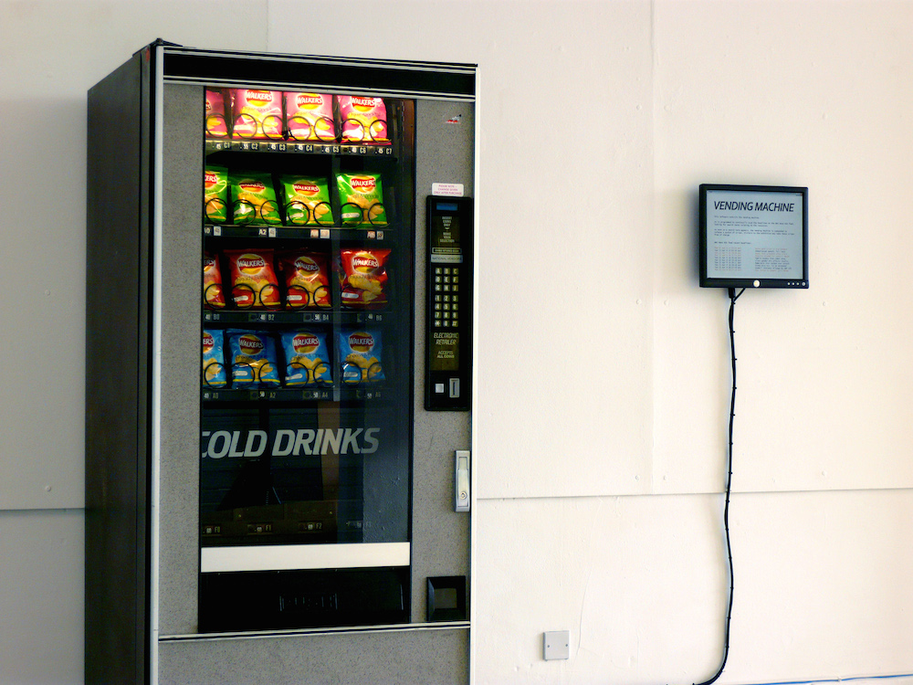 Ellie Harrison,  Vending Machine , 2009. | Foto: Ellie Harrison.