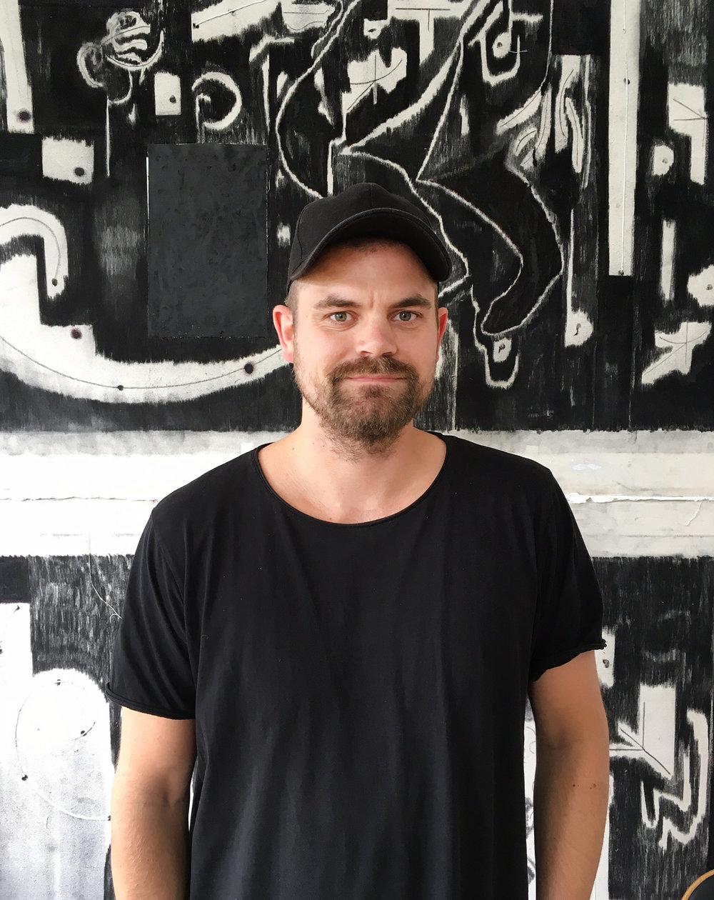 Claus Busch Risvig, kunstsamler og Artlands community manager.