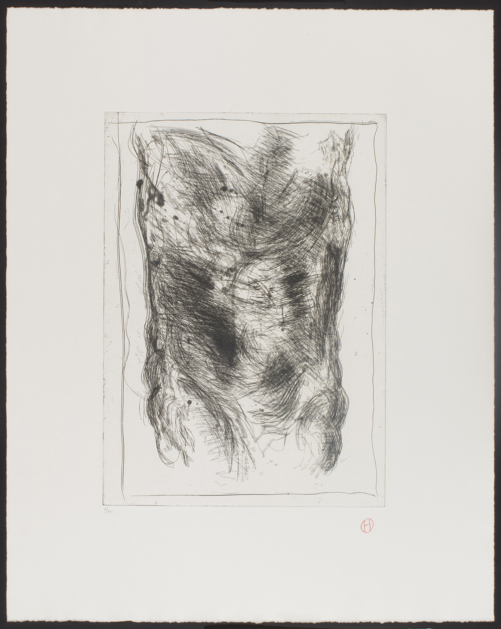 PrH 86 001: fra serien 10 Raderinger, 1986.