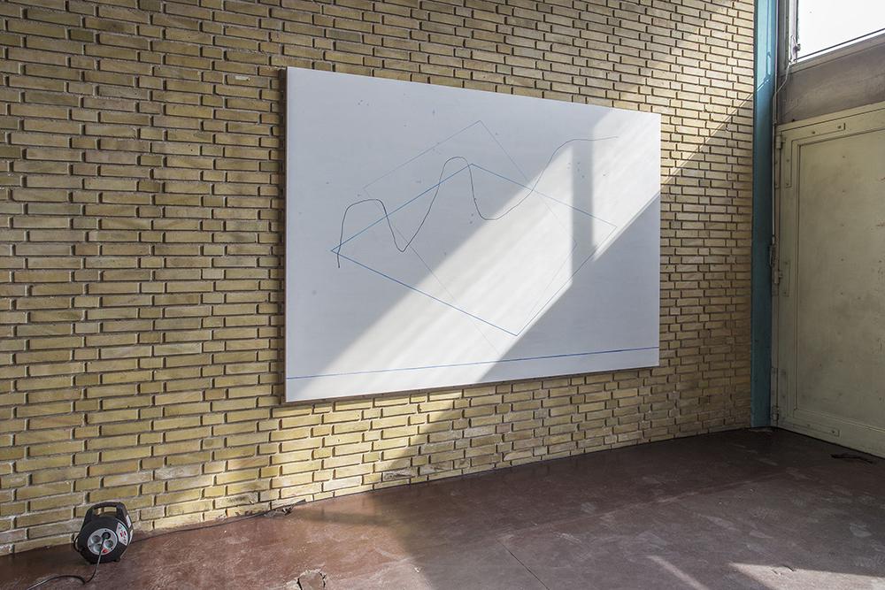Mikkel Rundin Ørsted, installation view.