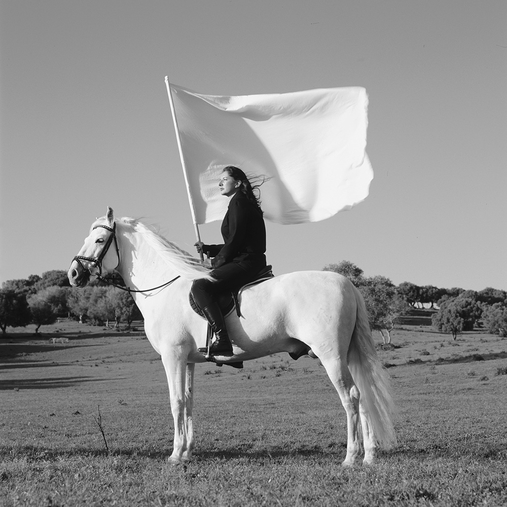 Marina Abramović, The Hero, 2001 © Marina Abramović/Bildupphovsrätt 2016. Photo: © TheMahler.com. Courtesy of the Marina Abramović Archives.
