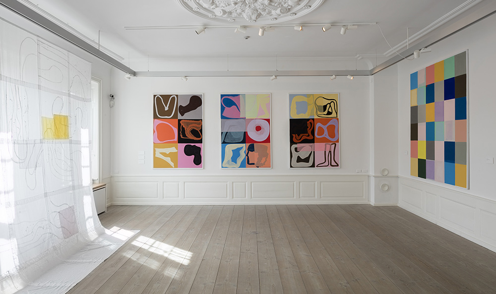 Malene Landgreen, Installationsbillede, foto: Torben Eskerod.