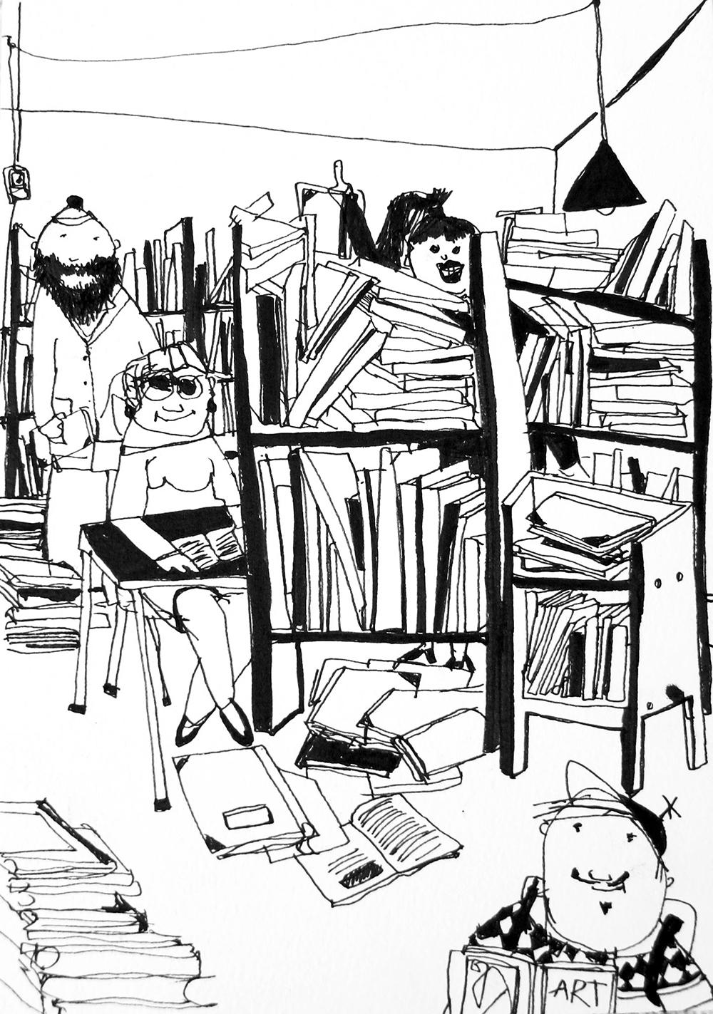 Illustration af Mie Hørlyck Mogensen.