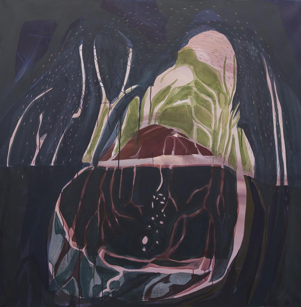 Janaina Tachäpe, Unterirdisch Auch Du, 2017.