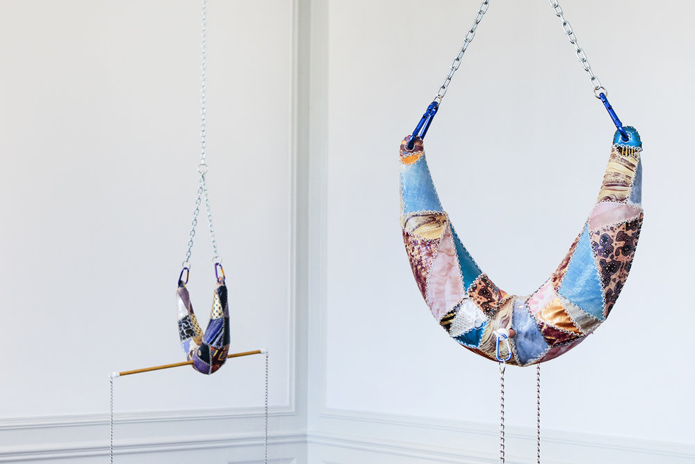 Maiken Bent, Trapez #1 og Trapez #3 | Foto: Rikke Luna & Matias © I DO ART Agency.