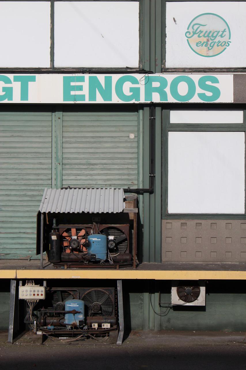 Engros på Grønttorvet, Valby.