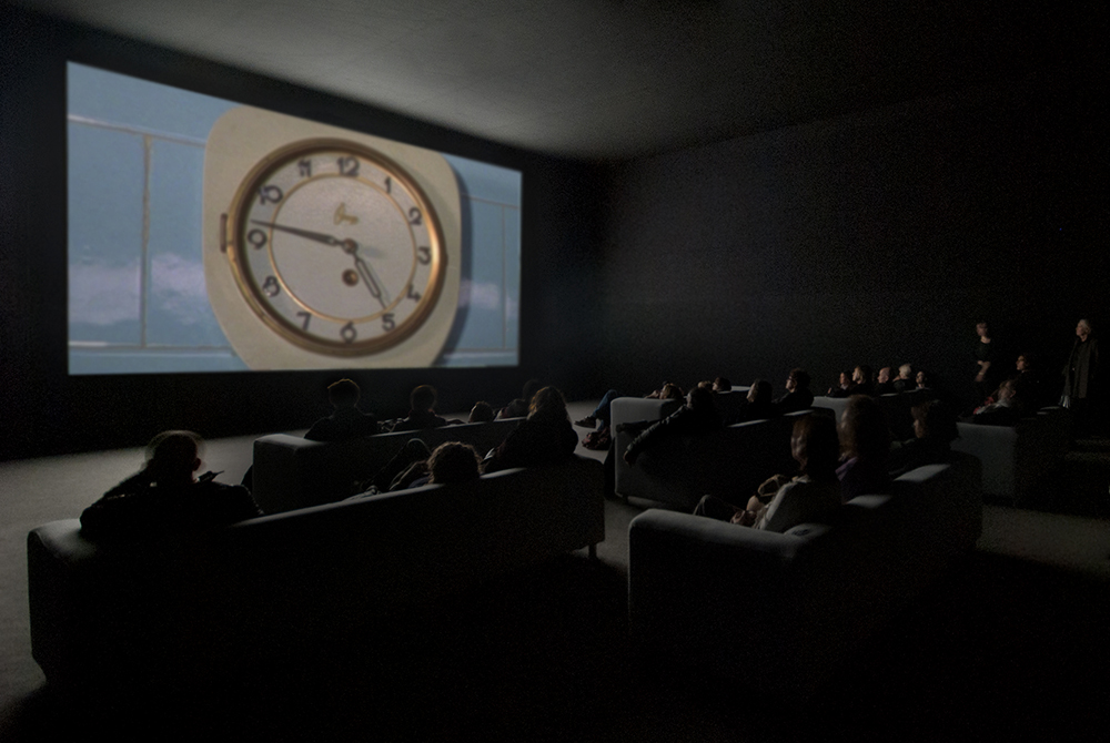 "Christian Marclay ""The Clock"", 2010. Single-channel video installation Duration: 24 hours. Photo © White Cube (Ben Westoby)."
