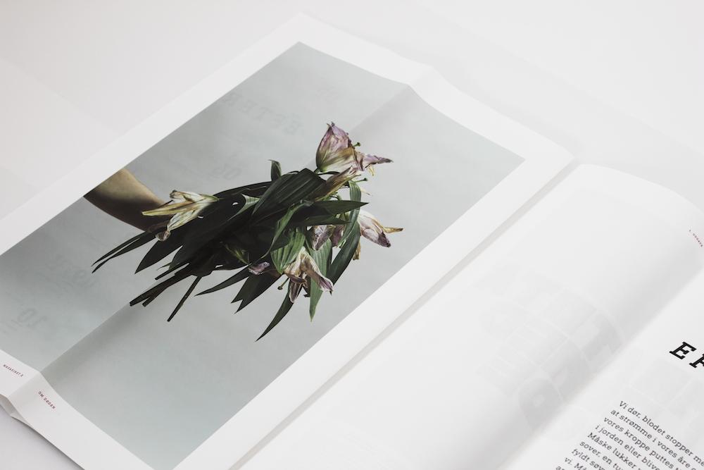 Julie Sølvstrøm / Magazine. Taboo/death.