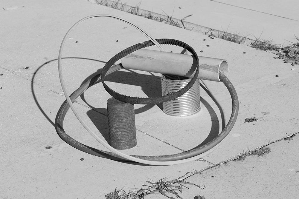 "Bärbel Praun ""Impermanent sculptures (of indestructible objects)"", 2017."