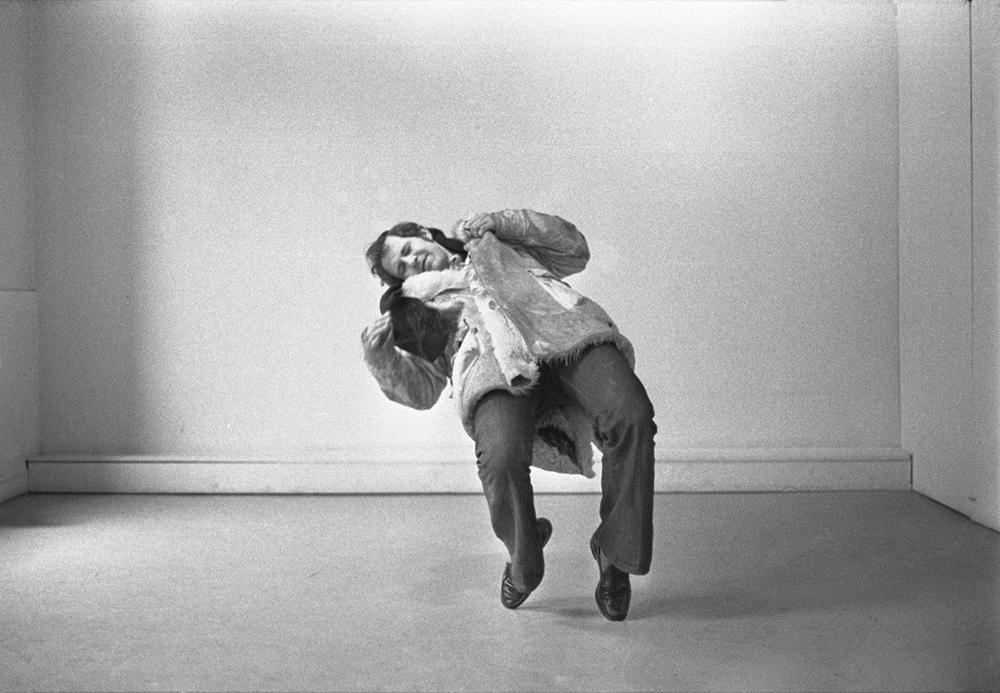 Stig Brøgger: Shooting (detail), 1969, 18 b/w photographs.