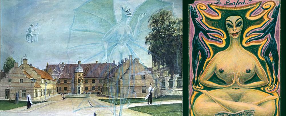 Kunstværker af Ovartaci. Foto af Museum Ovartaci.