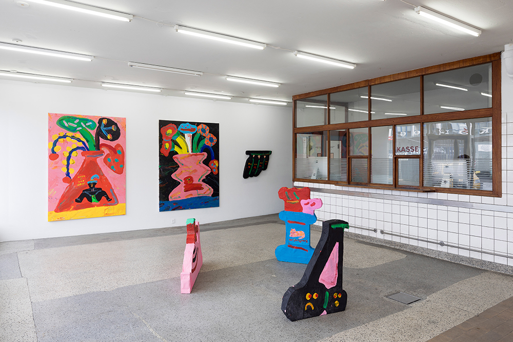 "Misaki Kawai ""Romantic Melody"" (installation view, V1 Gallery). Photo: Jan Søndergaard."