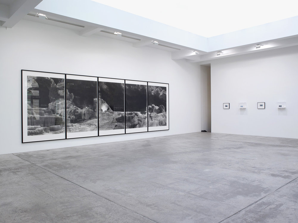 "Tacita Deans ""Quatemary"", 2014. Installation view Marian Goodman Gallery, Paris."