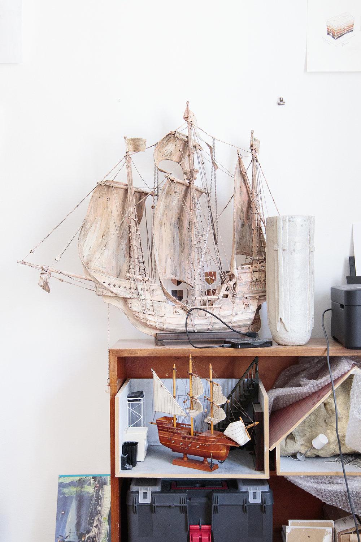 Skib fra Native, Exotic, Normal på Den Frie, 2016 | Fotos © I DO ART Agency.