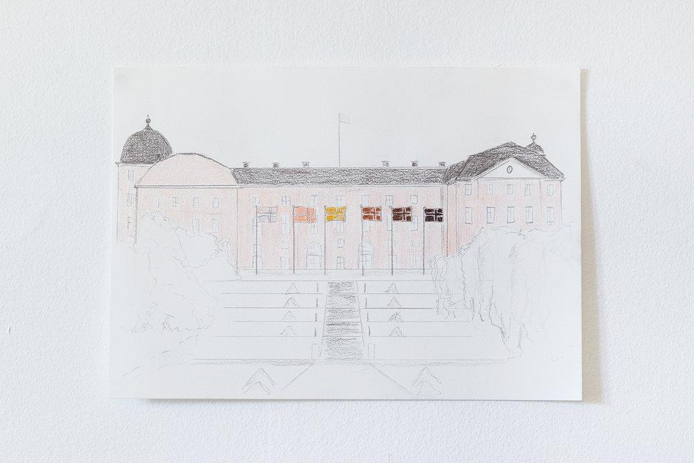 Skitse til Uppsala Konstmuseum | Foto © I DO ART Agency.