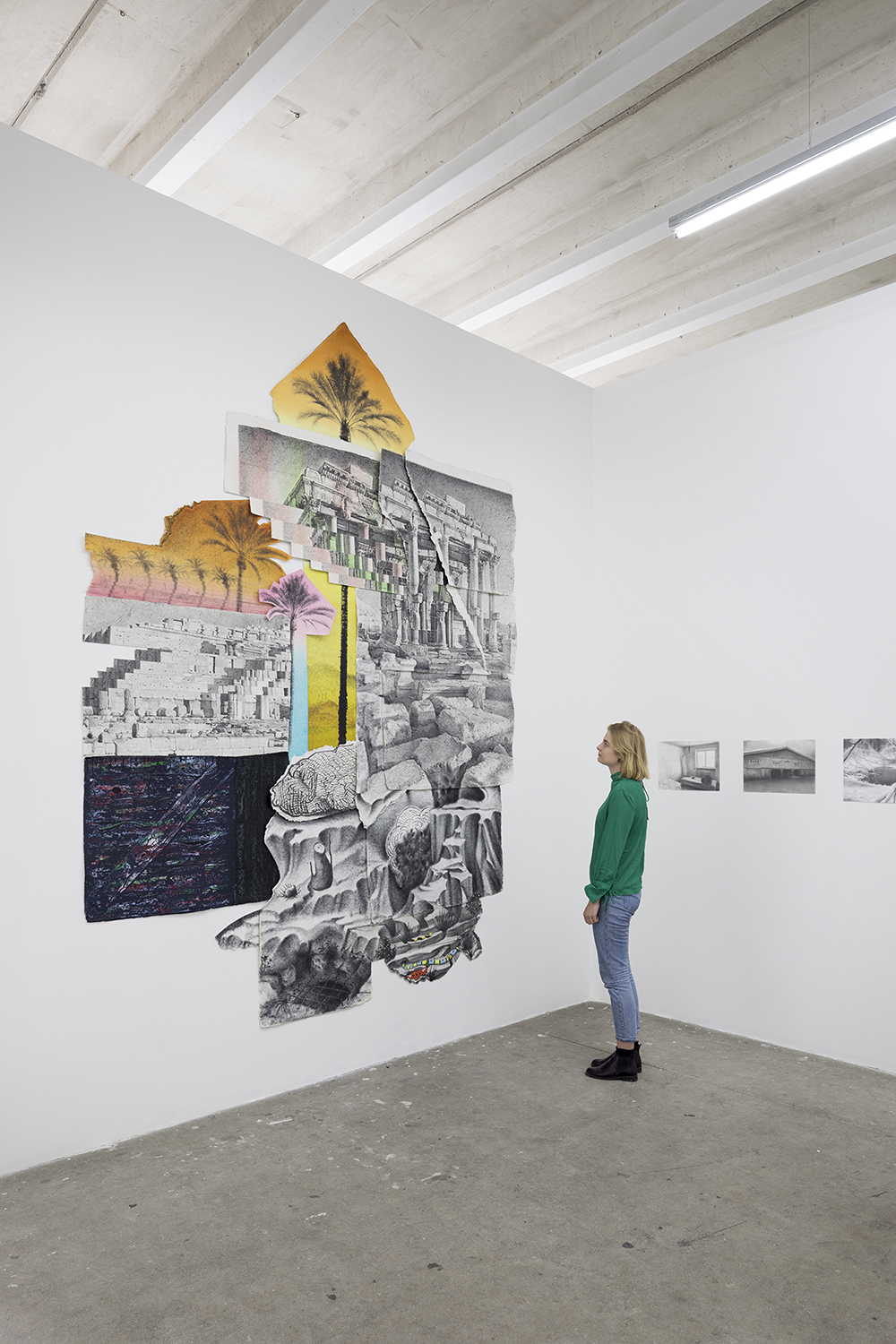 "Robert McNally ""Drawings from the hermit's cave"" (Installation view). Photo: Jan Søndergaard."