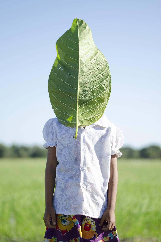 'Leaf' by Cambodian artist Neak Sophal.