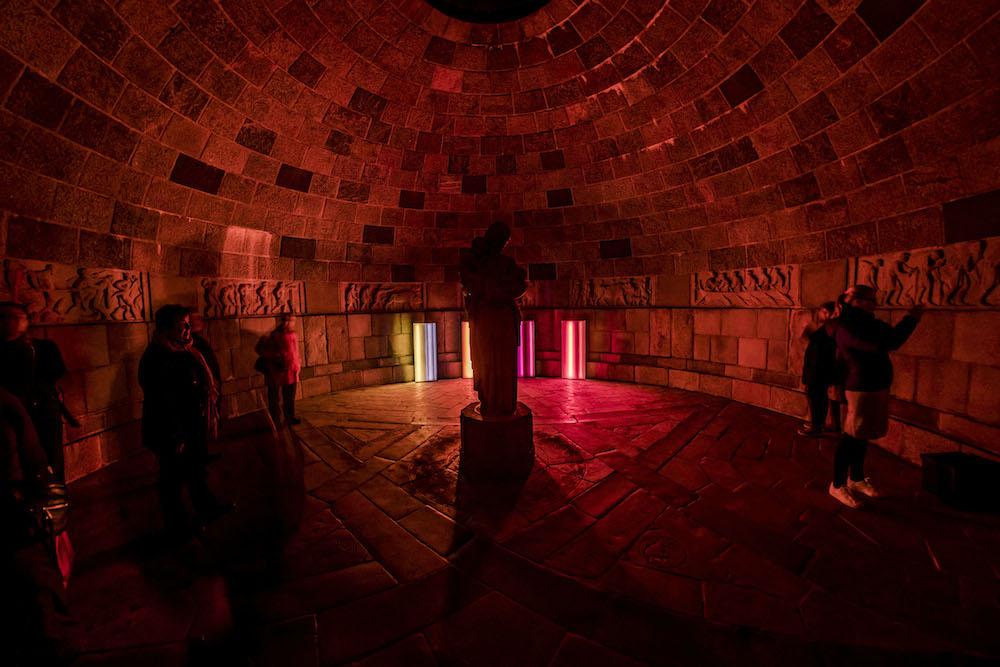 Reflektor Light Festival, 2016.  Colour Spaces  af Christina Augustesen. Foto Kim Matthäi Leland.