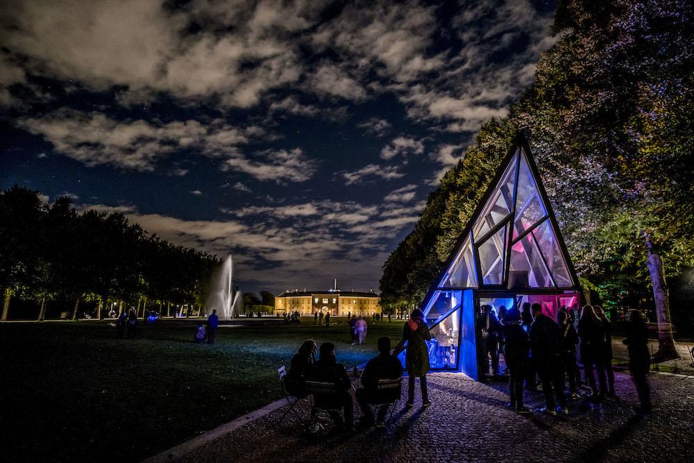 Reflektor Light Festival, 2016 i Søndermarken. Foto Kim Matthäi Leland.