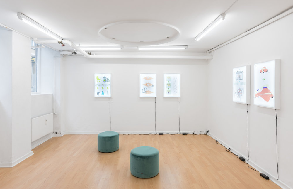 Installation view, 'Imagineering' by Piscine Think Tank | Photo: David Stjernholm.