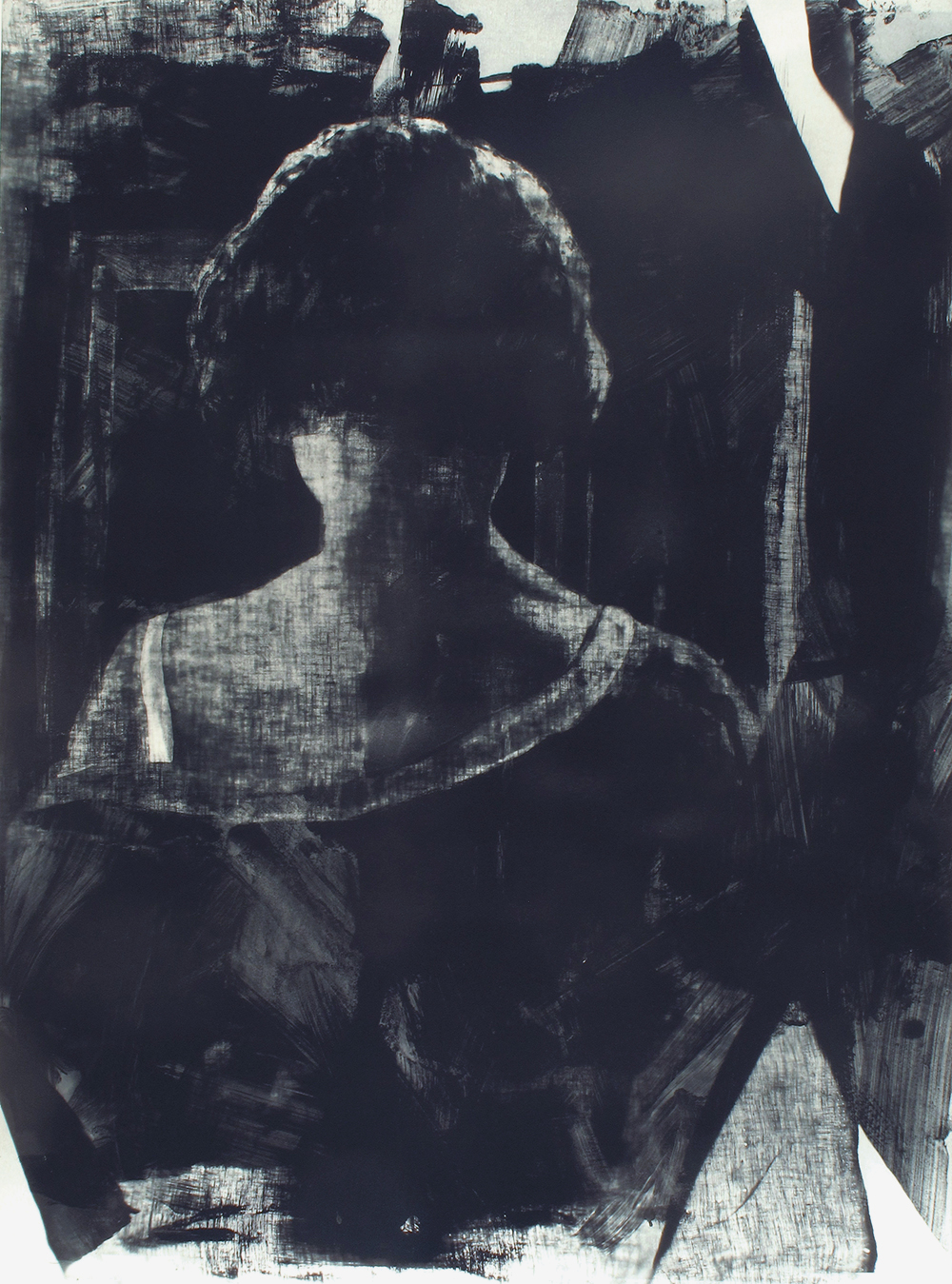 Matt Saunders, Ilsted (Annie) #1, 2015 (Photogravure, Edition of 12).