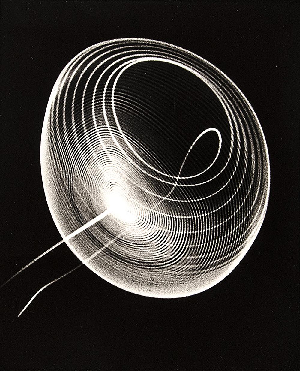 Ben Laposky, Oscillion No. 27, 1952.