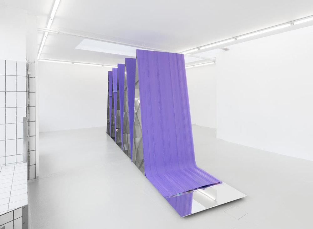 """Ruth Campau """"Chicago Mountains"""". Gether Contemporary."""