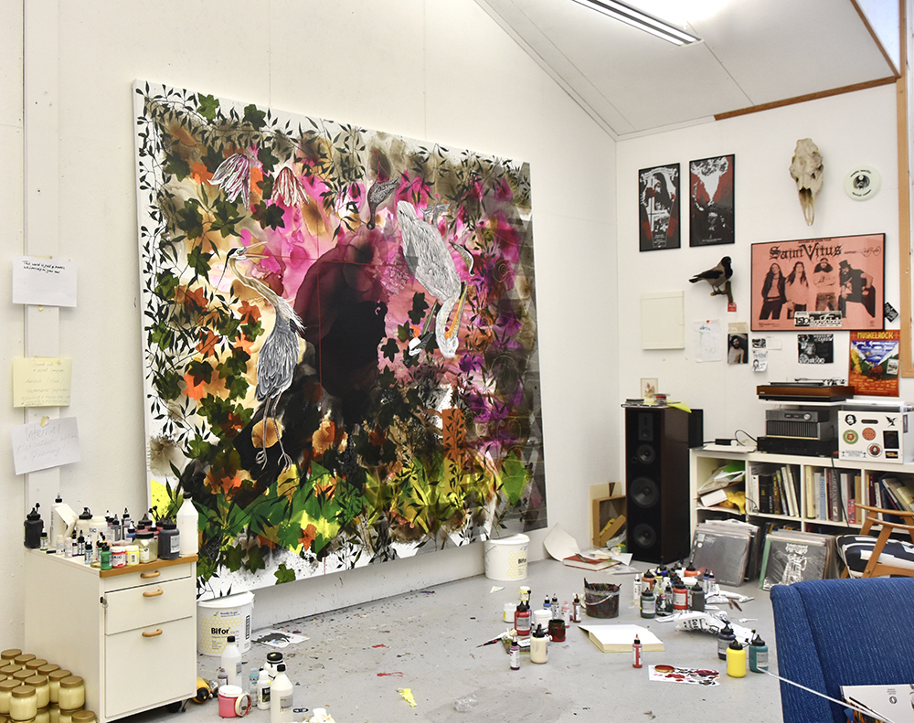 James Aldridge studio.