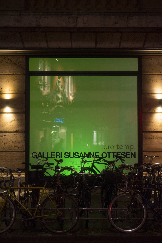 Pro temp. på Galleri Susanne Ottesen. Fotos af Niklas Adrian Vindelev.