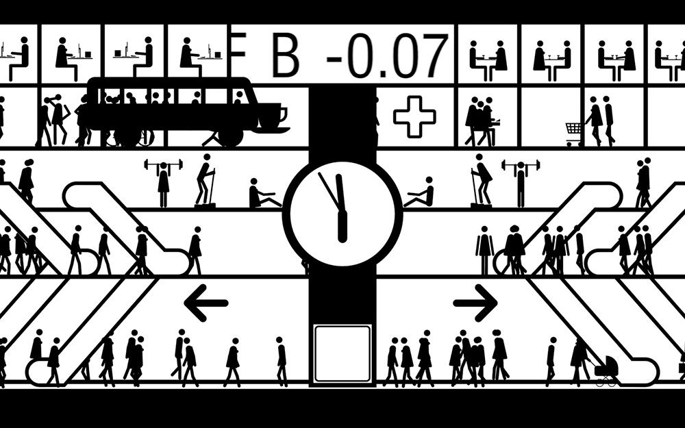 """Lars Arrhenius, still fra animationen """"Cuckoo Clock"""", 2017"""