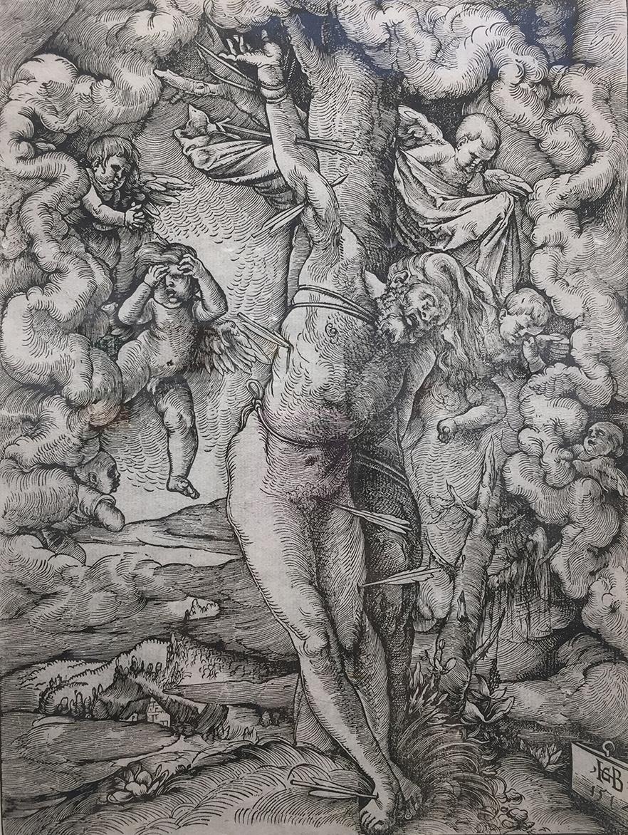 Hans Baldung Grien's St. Sebastian from 1514.