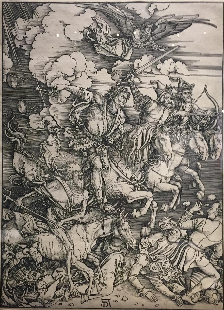 Albrecht Dürer The Four Horsemen of the Apocalypse, 1498.
