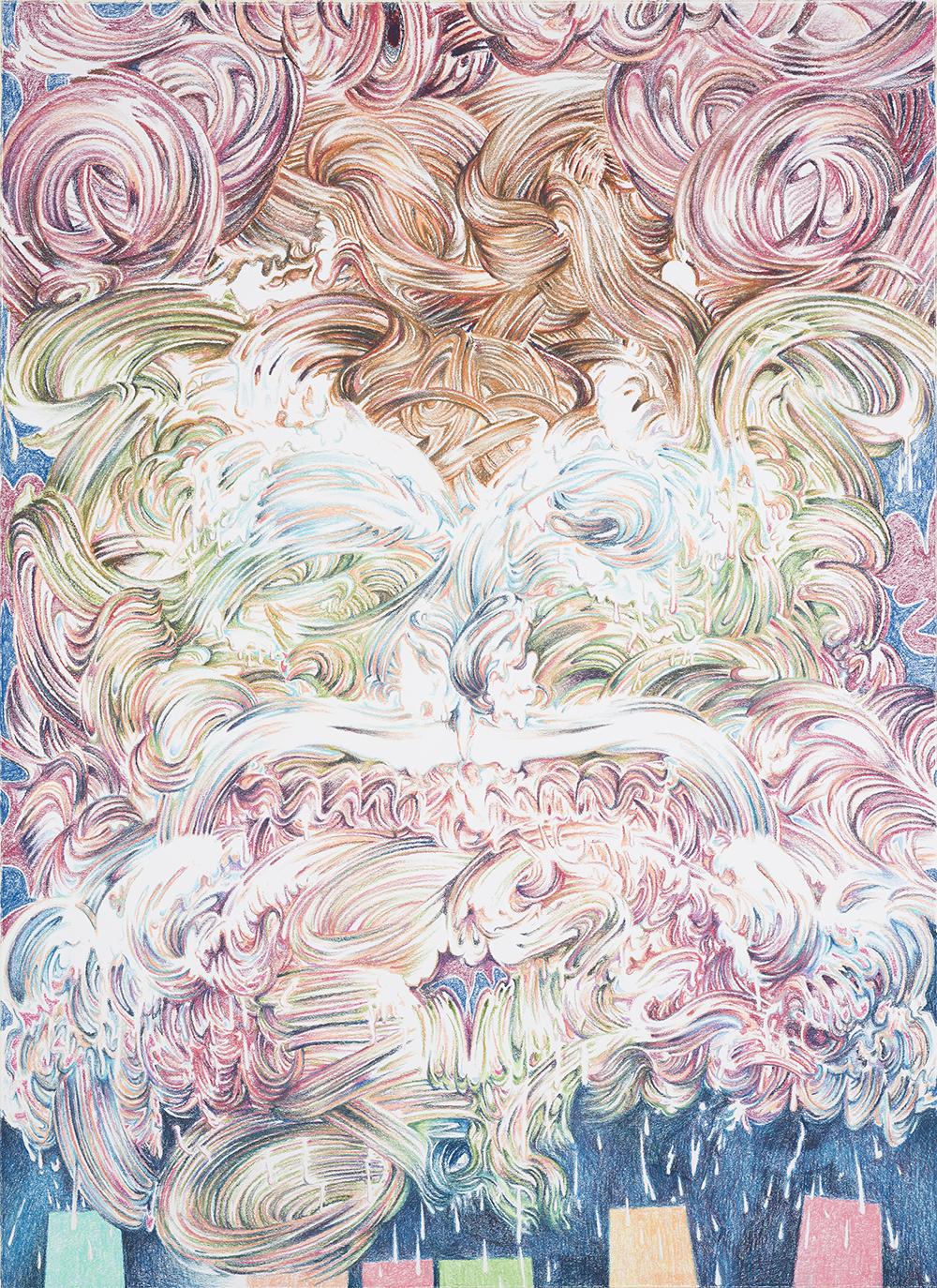 Paul McDevitt, King's Crown, 2017 (149 x 108,5cm).