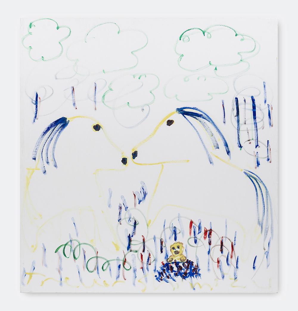 Trevor Shimizu, Is This Love, 2015. Oil on canvas, 177x162,5 cm.