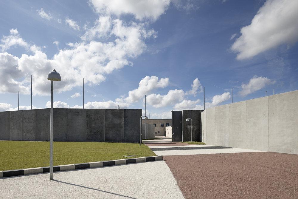 Storstrøm Fængsel. Foto: Torben Eskerod.