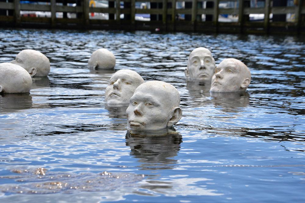 Gudrun Steen-Andersen, Heads up (Floating Art 2017).