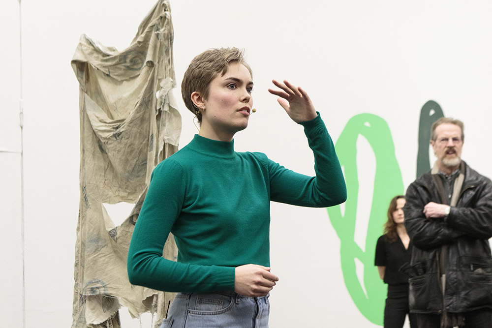 Louise Haugaard Jørgensen, Den Frie 2017. Foto © I DO ART Agency.