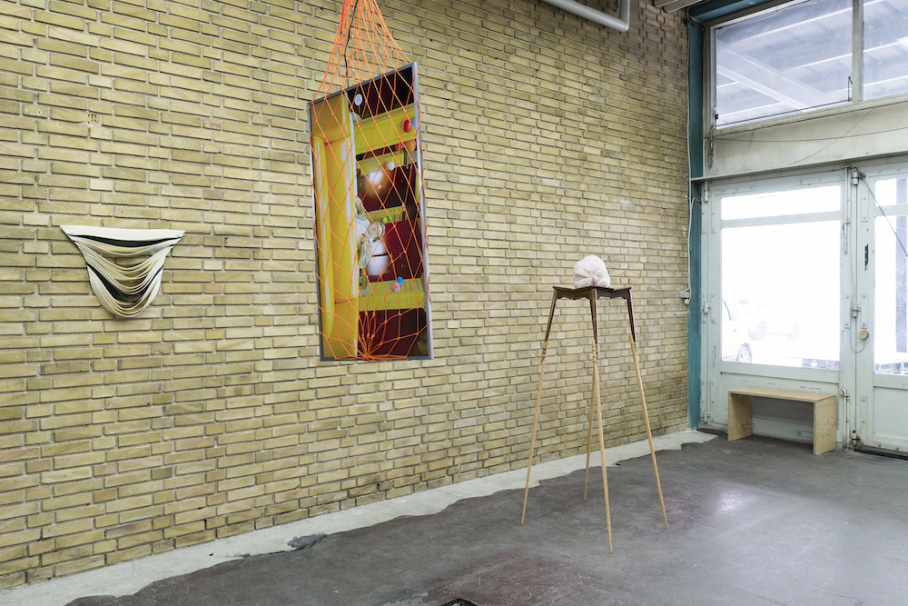 Marie Plum, Peter Bonde og Susanne Schmidt-Nielsen (installation view).