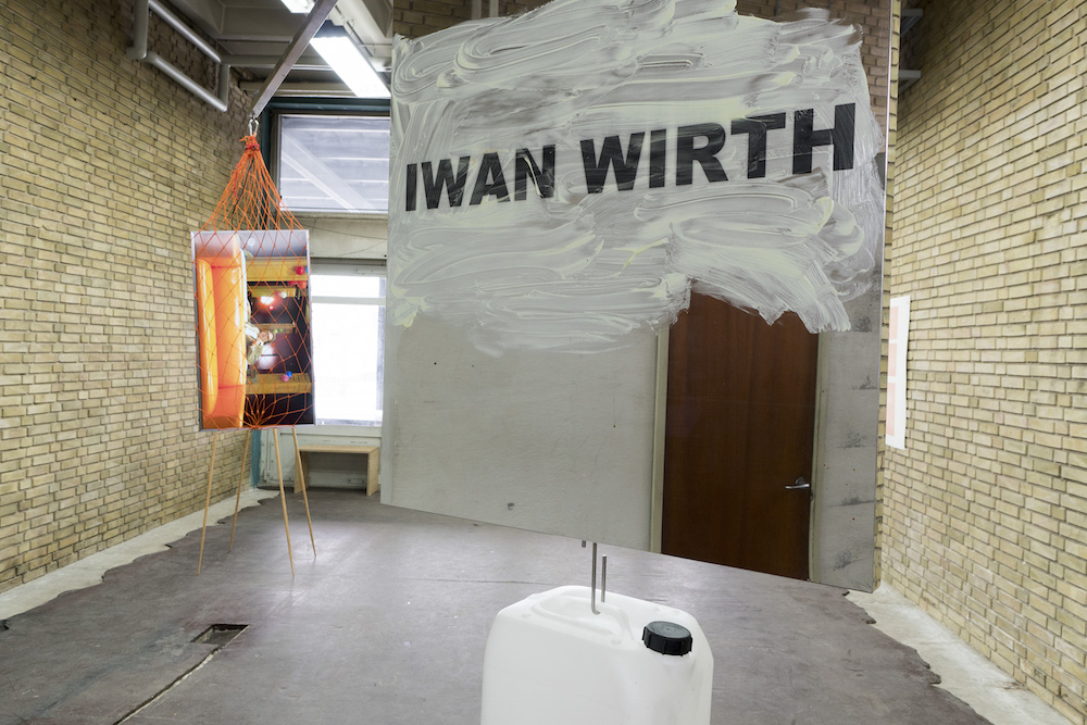 """Peter Bonde """"Untitled piece for Chris and Iwan"""", 2010-2018. Dimensions variable, Mixed media."""