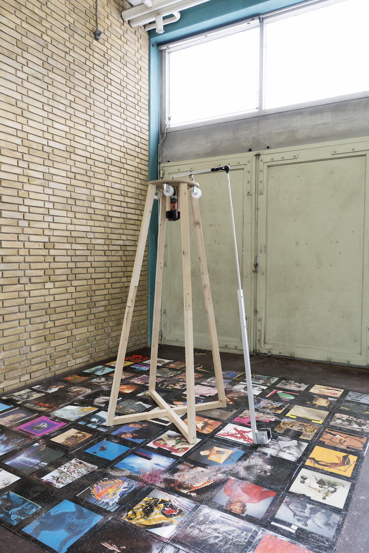 "Heine Klausen Kjærgaard ""Cover Me Up"", 2018. Performance."