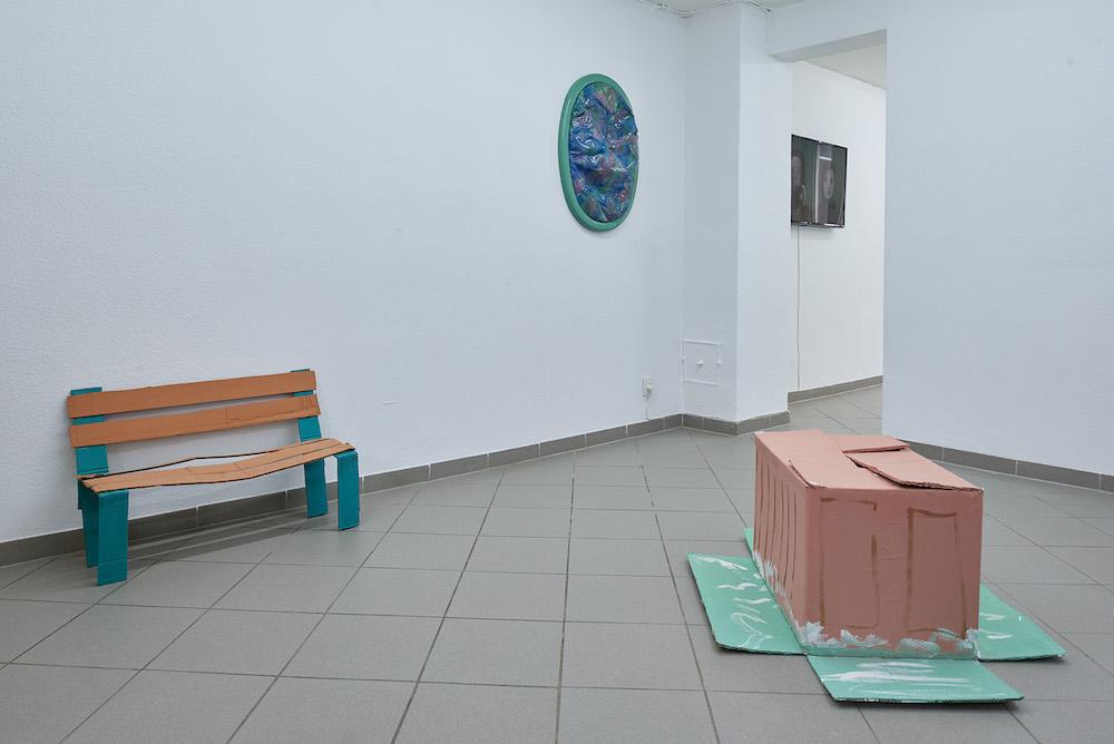 "Nanna Katharina Jensen og Simon Fiil ""Sønder & Sammen"" (Installation view). Foto: Kirstine Mengel."