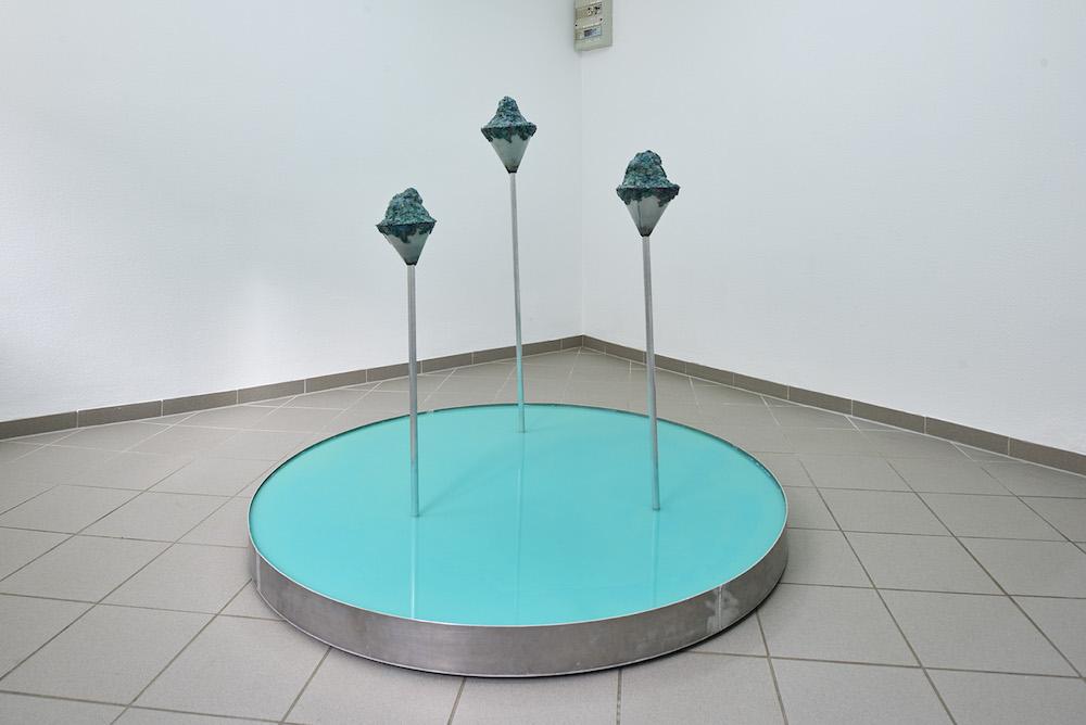 "Nanna Katharina Jensen ""Primordial Pool,"" 2017. Foto: Kirstine Mengel."