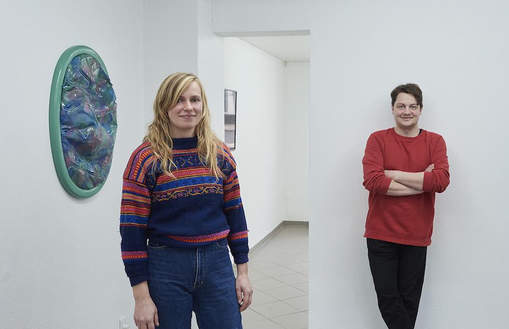 """Nanna Katharina Jensen og Simon Fiil """"Sønder & Sammen"""". Foto: Kirstine Mengel."""