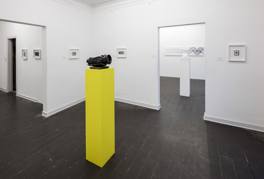 "Christian Vind ""SYNOPSIS – for a possible exhibition"" (Installation view). Photo: Anders Sune Berg."