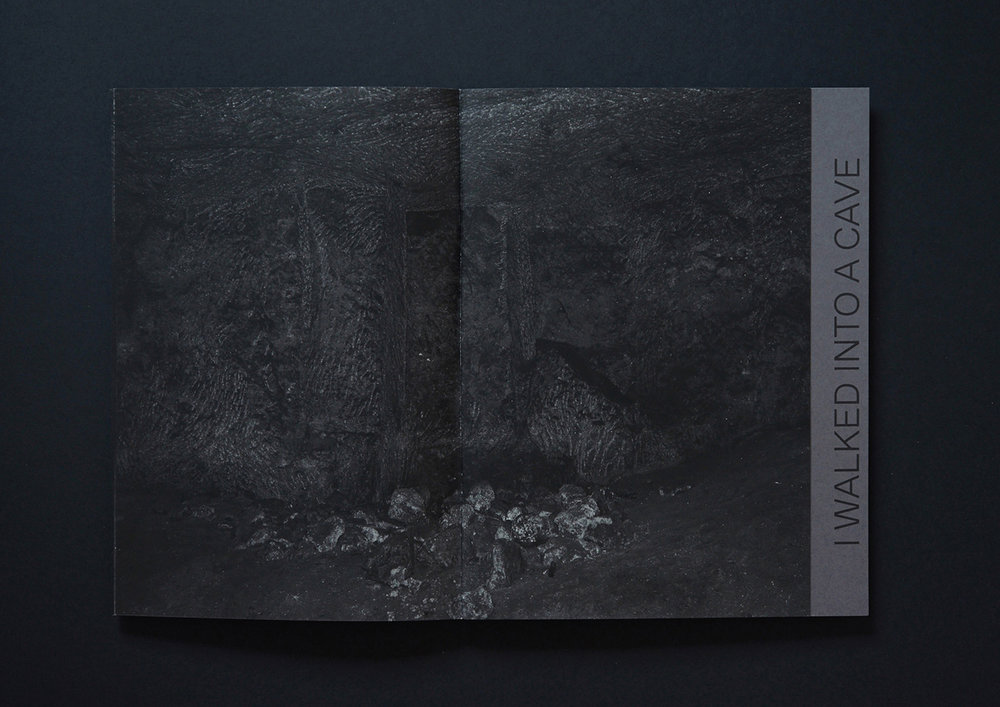 Peter Granser, I walked into a cave and up to Paradajs (Artist's book).