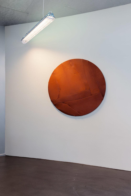 """Mødelokalet """"Venus"""", Læder Objekt. Foto: Morten Barker."""
